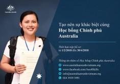 Học bổng chính phủ Australia