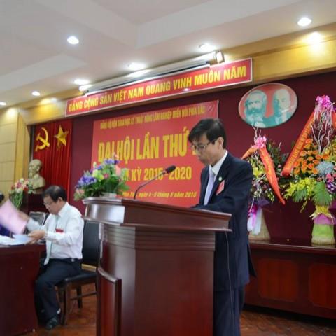 Đại hội Đảng bộ Viện KHKT nông lâm nghiệp miền núi phía Bắc lần thứ III, nhiệm kỳ 2015-2020
