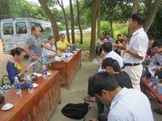Đại diện chương trình CCAFS tại Đông Nam Á thăm điểm triển khai xây dựng mô hình làng thông minh tại Yên Bái và NOMAFSI